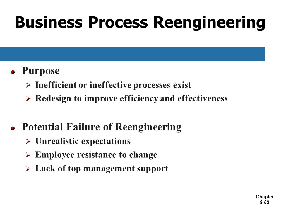 failure stories of business process reengineering The idea of re-engineering was first propounded in an article in harvard business review in july–august 1990 by michael hammer (see article), then a professor of computer science at mit the.