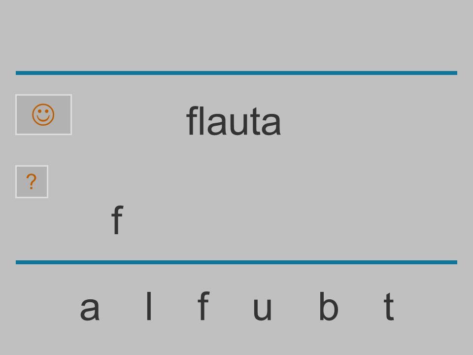  flauta f a l f u b t