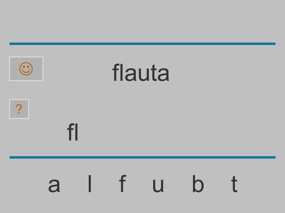  flauta fl a l f u b t
