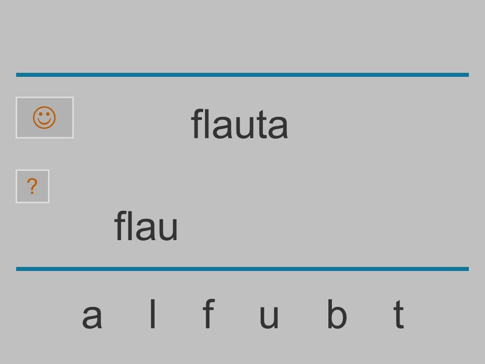  flauta flau a l f u b t