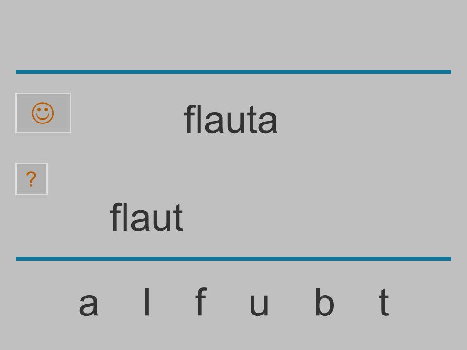  flauta flaut a l f u b t