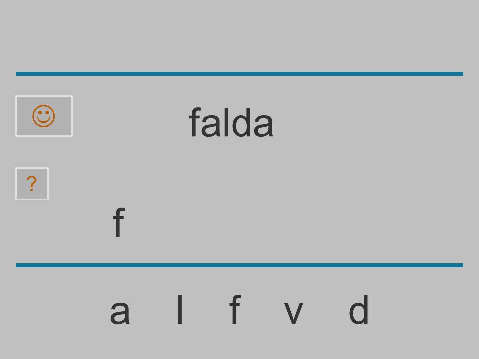  falda f a l f v d