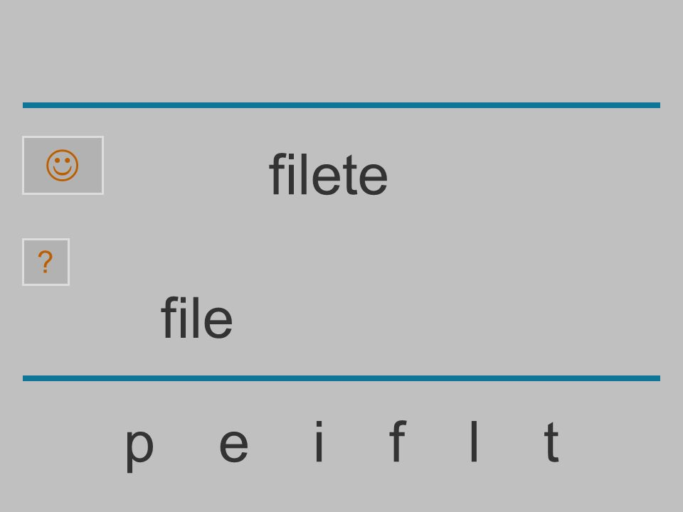  filete file p e i f l t