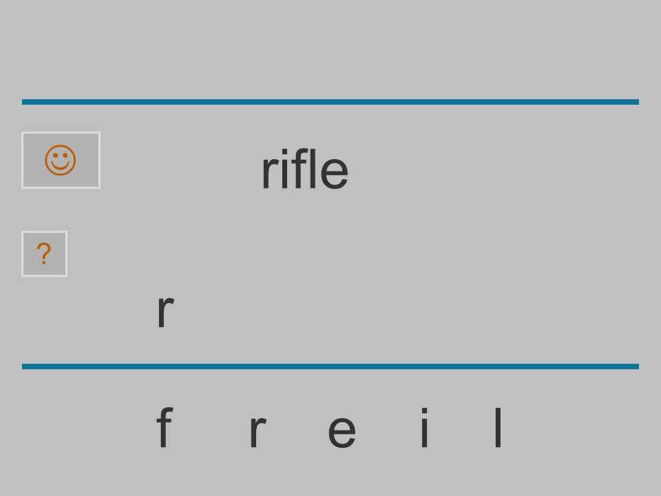  rifle r f r e i l