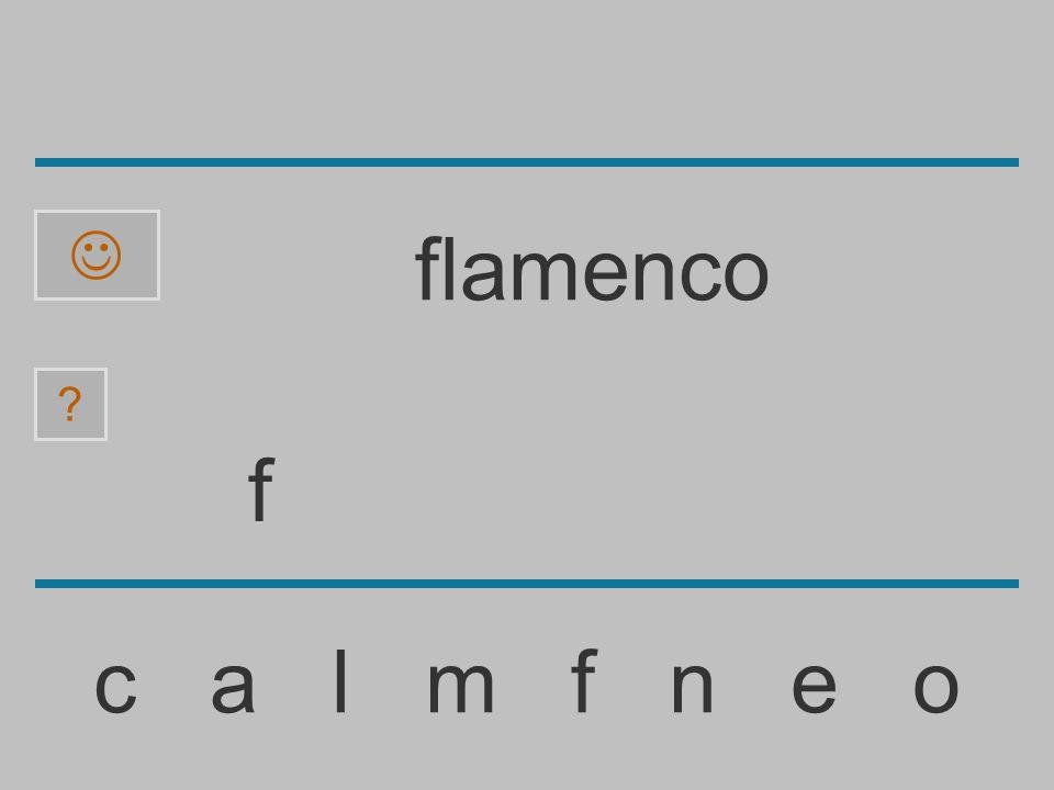  flamenco f c a l m f n e o
