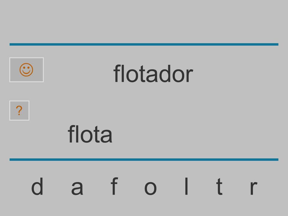  flotador flota d a f o l t r