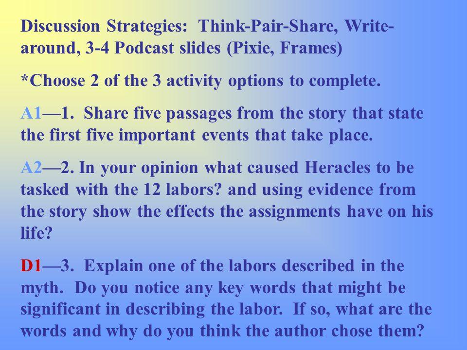 Pair options strategies