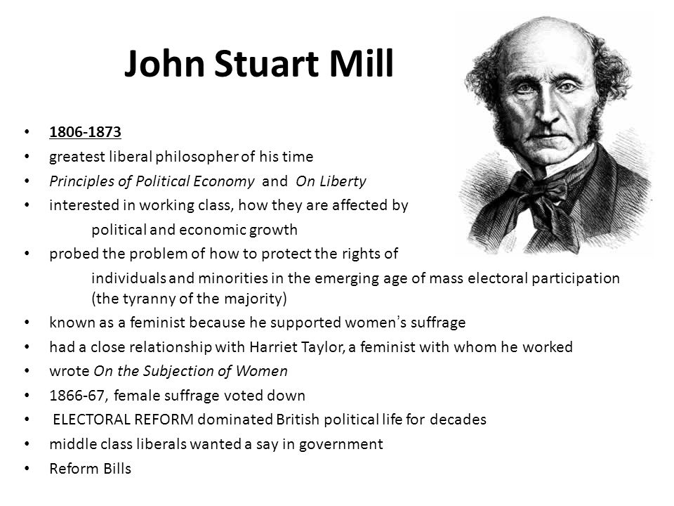 John Stuart Mill and Women's Movement Essay