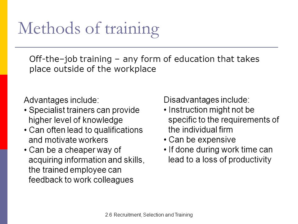 employee selection and training Each selection tool used to evaluate candidates should add value to your ability to effectively determine which candidate is the best match for the position bad hires cost companies significant money because of the need to reinvest in the hiring process and new employee training video of the day  hr-selection-process-importanthtml 26.