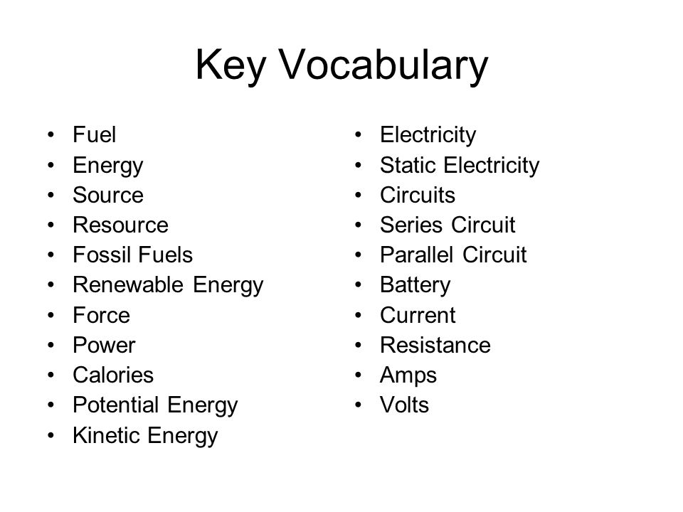 unit  energy grade 6 term ppt download
