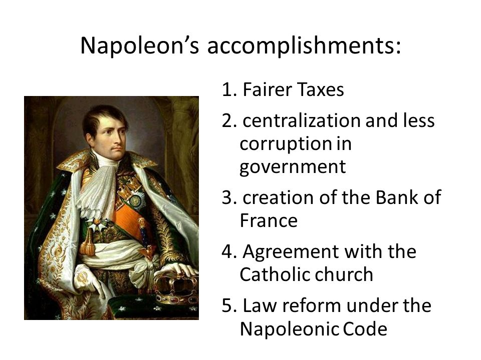 the greatest educational reform in france under the rule of napoleon bonaparte But napoleon laid foundation for modern french education he set up   napoleon's reforms improved on financial situation in france  before napoleon  came.