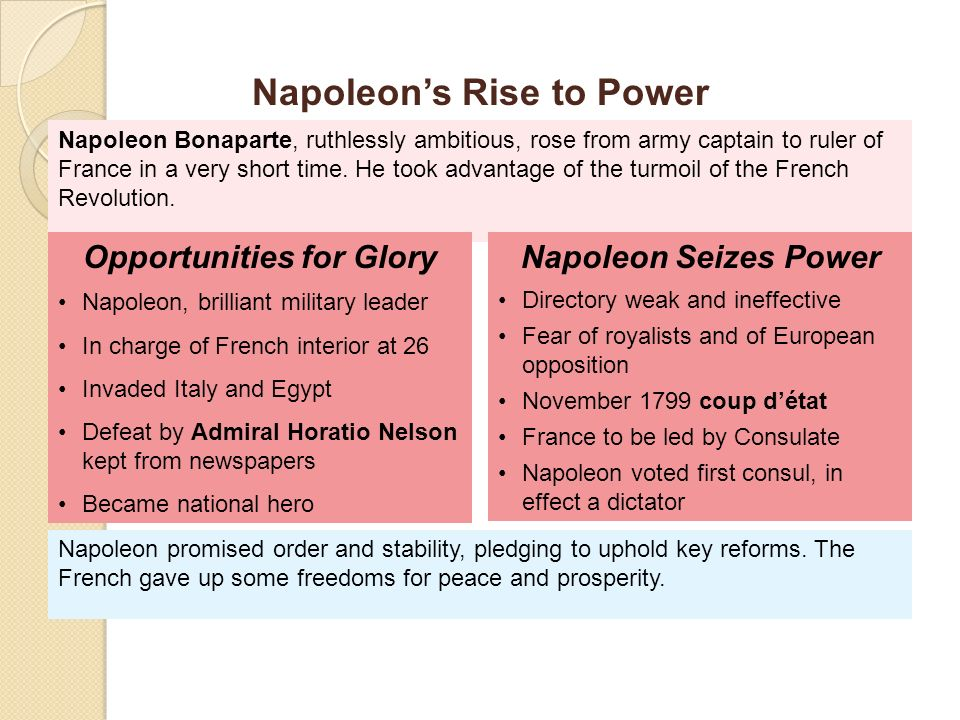 napoleon was weak ruler