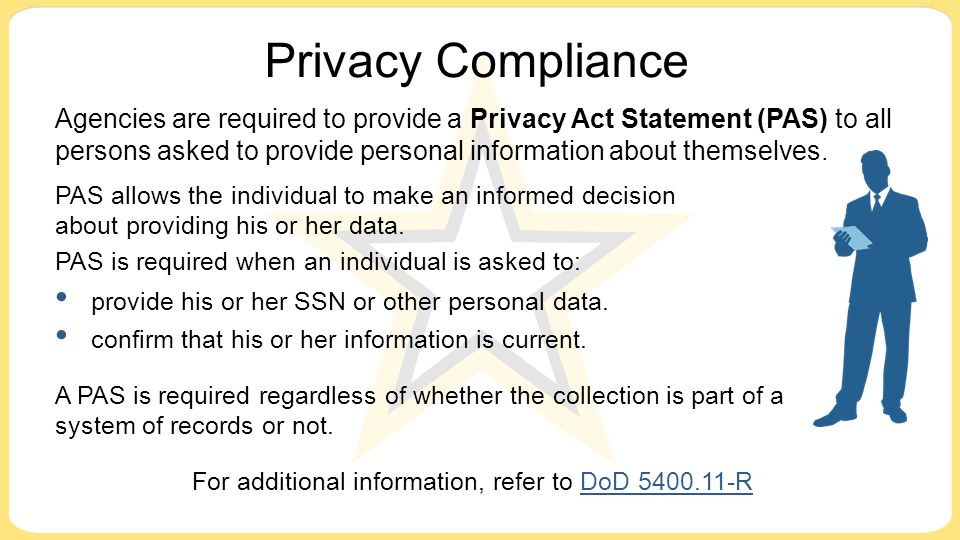 INSPECTOR GENERAL INSTRUCTION 5400.11 PRIVACY ACT …