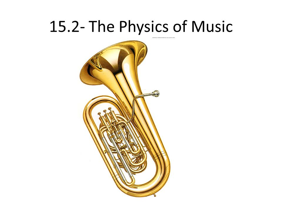 15.2- The Physics of Music