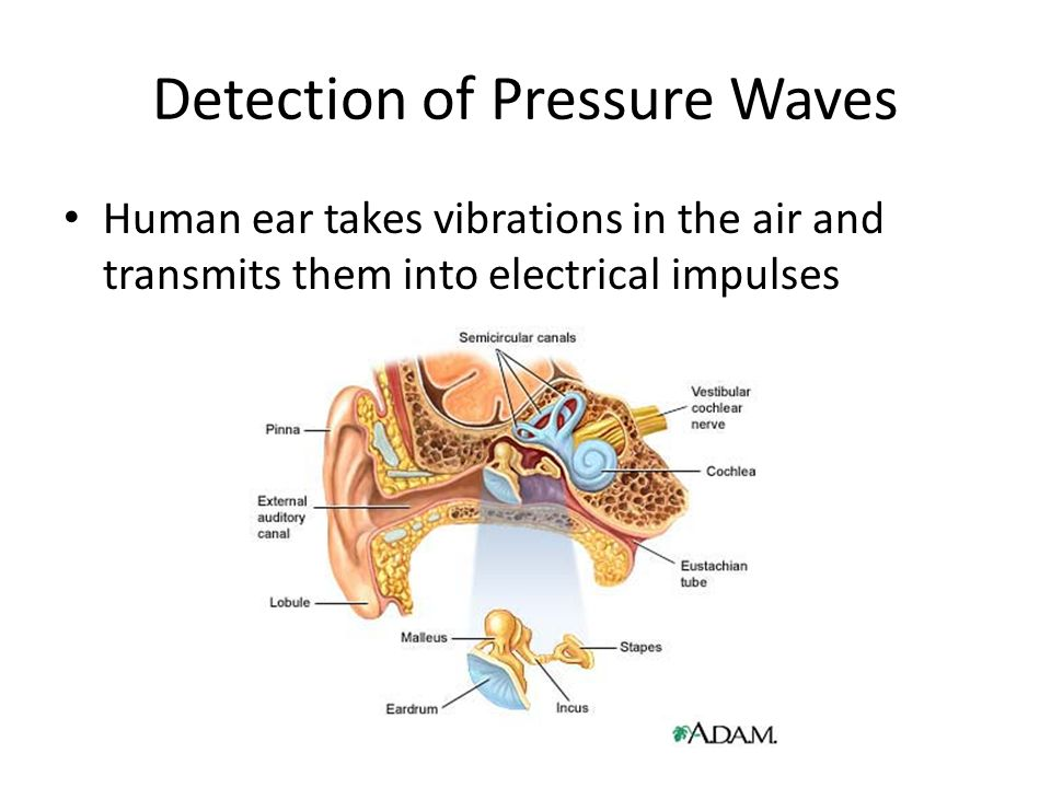 Detection of Pressure Waves