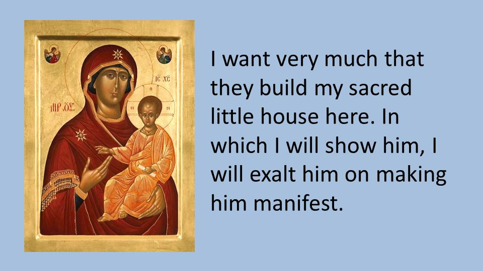 Behold your mother an introduction to mariology ppt for I want to build my house