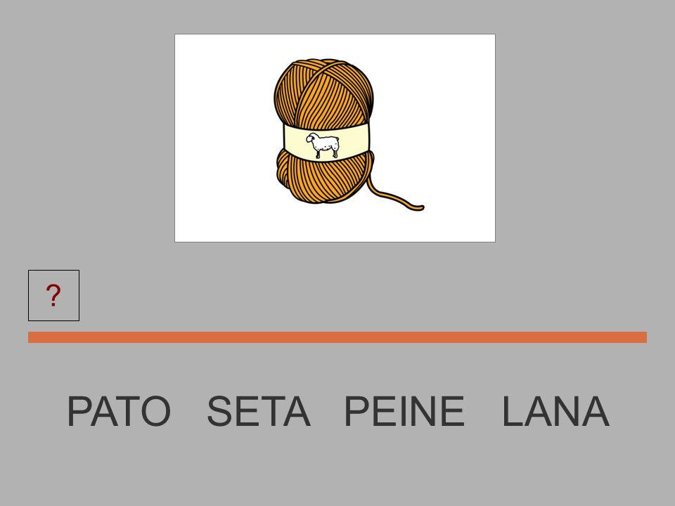 LANA PATO SETA PEINE LANA