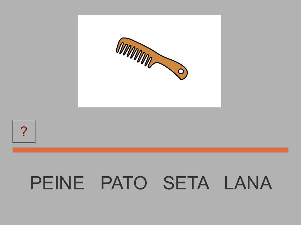 PEINE PEINE PATO SETA LANA