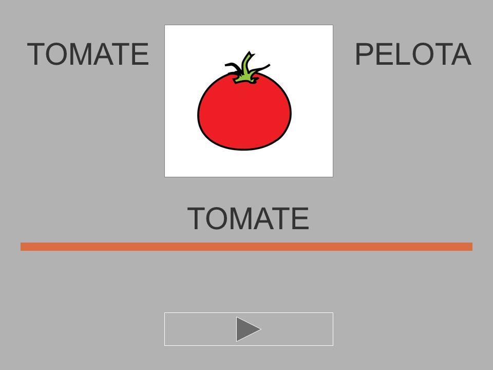 TOMATE PELOTA TOMATE