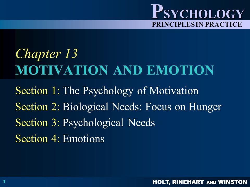 Chapter 13 MOTIVATION AND EMOTION - ppt video online download
