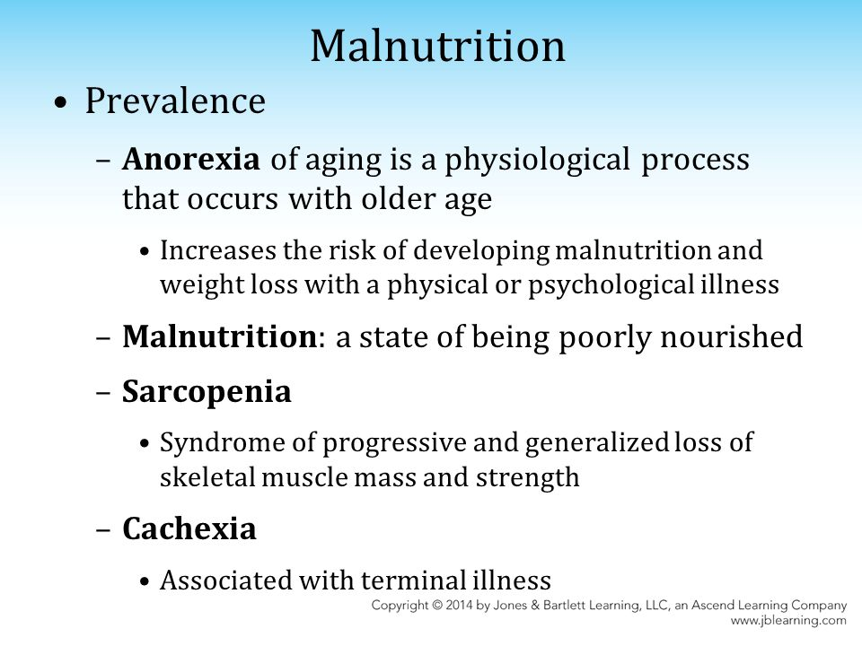 Chapter 17: Dysphagia and Malnutrition