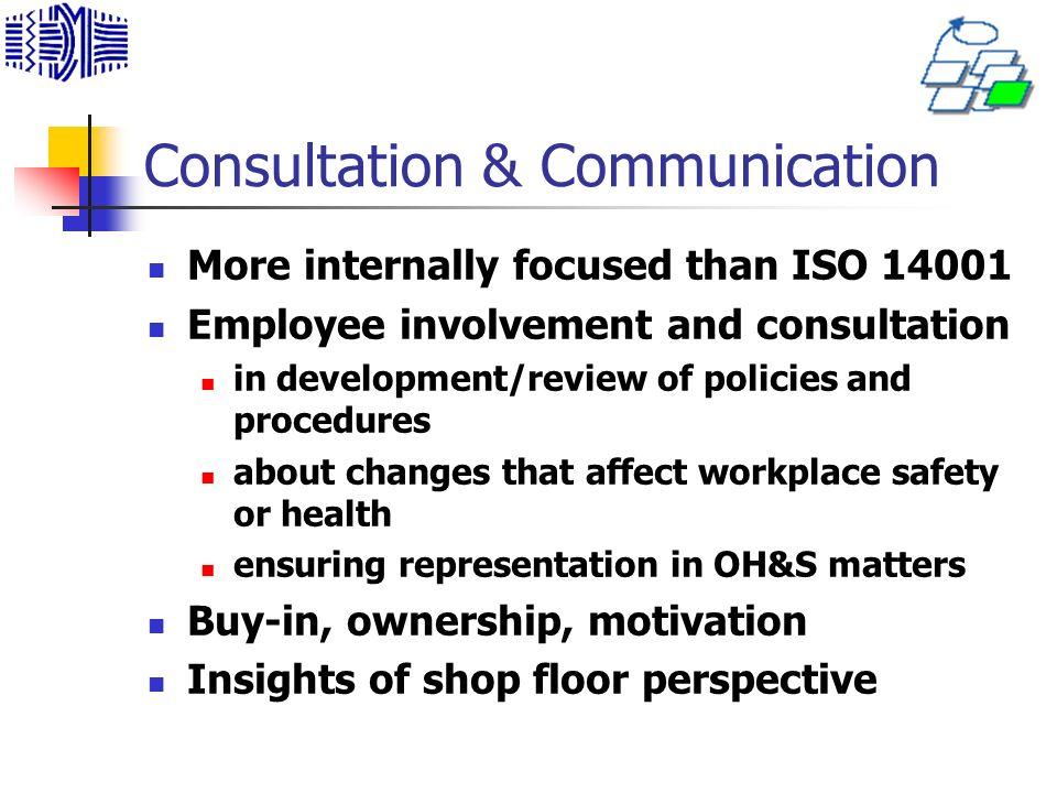 Consultation & Communication