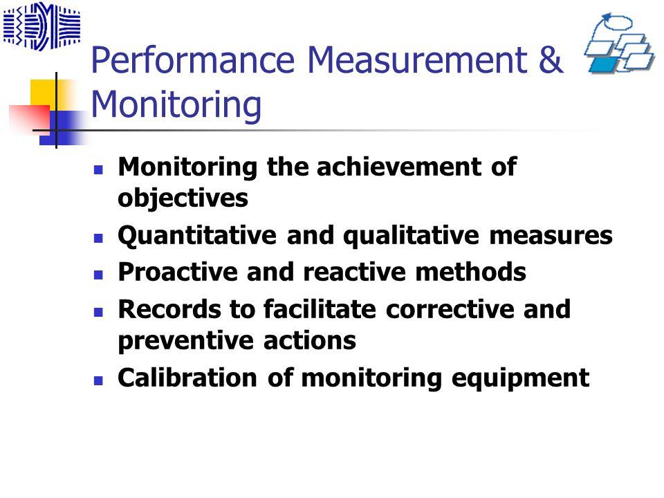 Performance Measurement & Monitoring