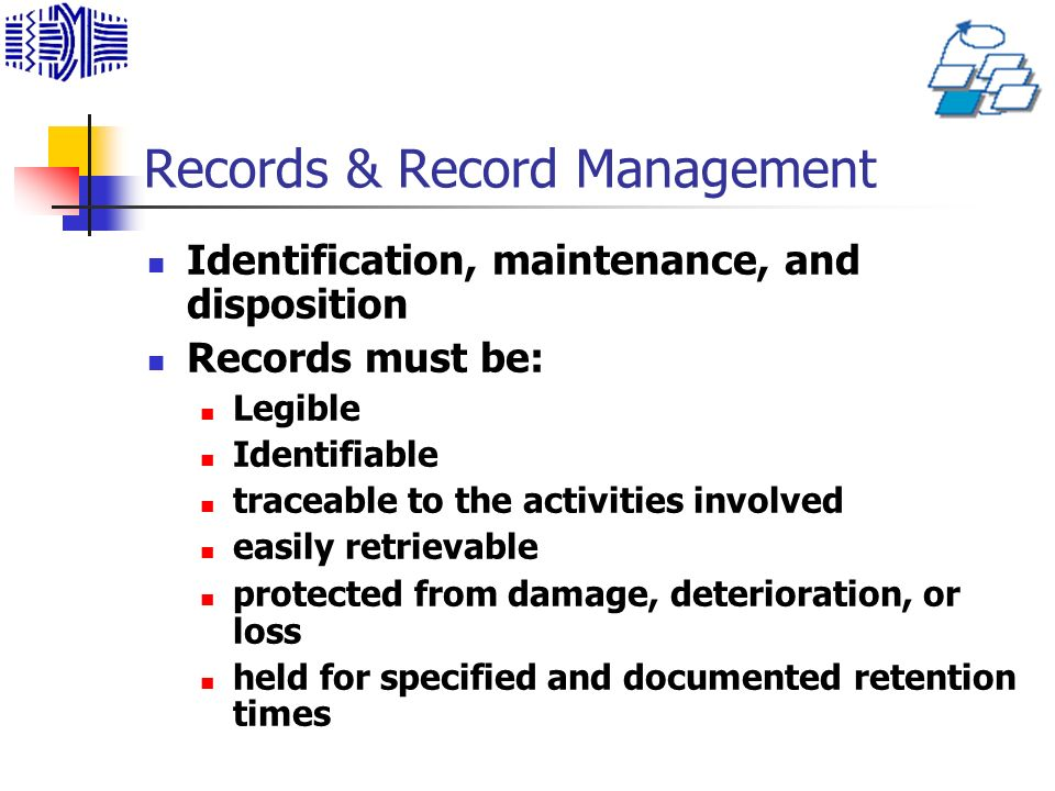 Records & Record Management