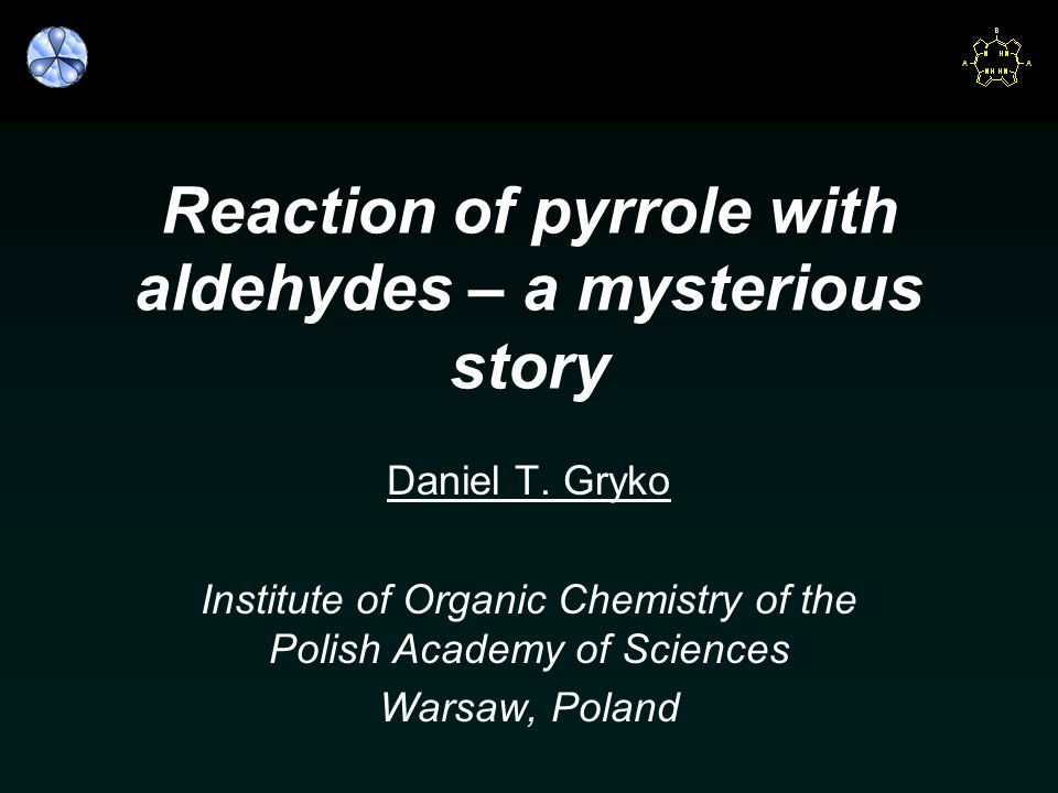 Reaction of pyrrole with aldehydes – a mysterious story
