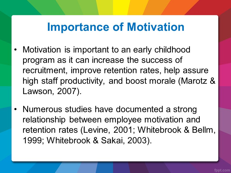 Importance of Motivation for Employees | Employee Management