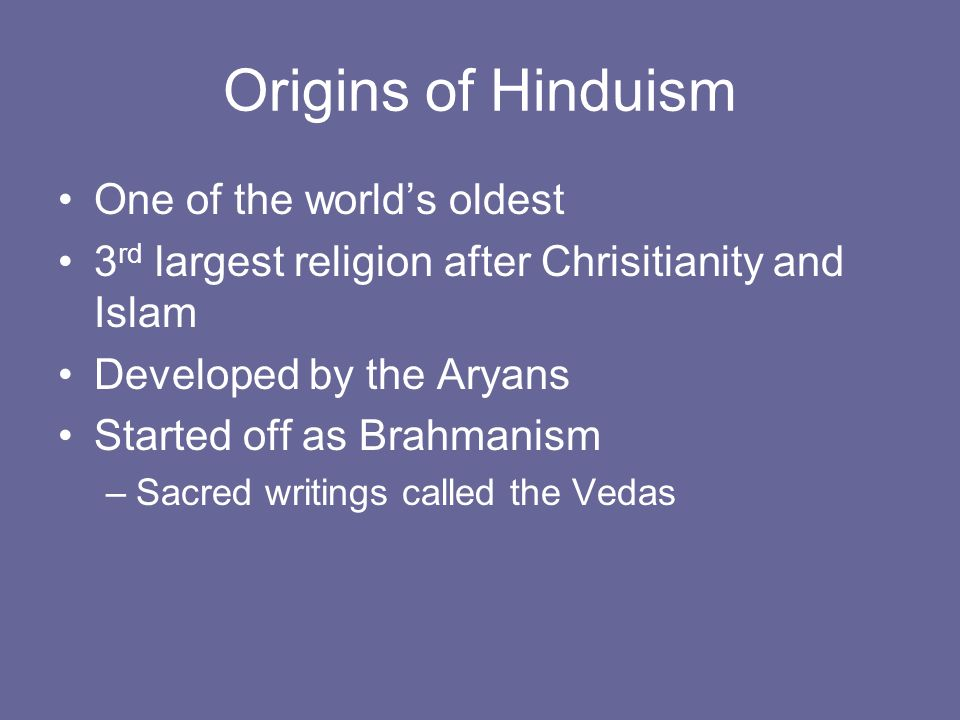 Religions of Ancient India - ppt download