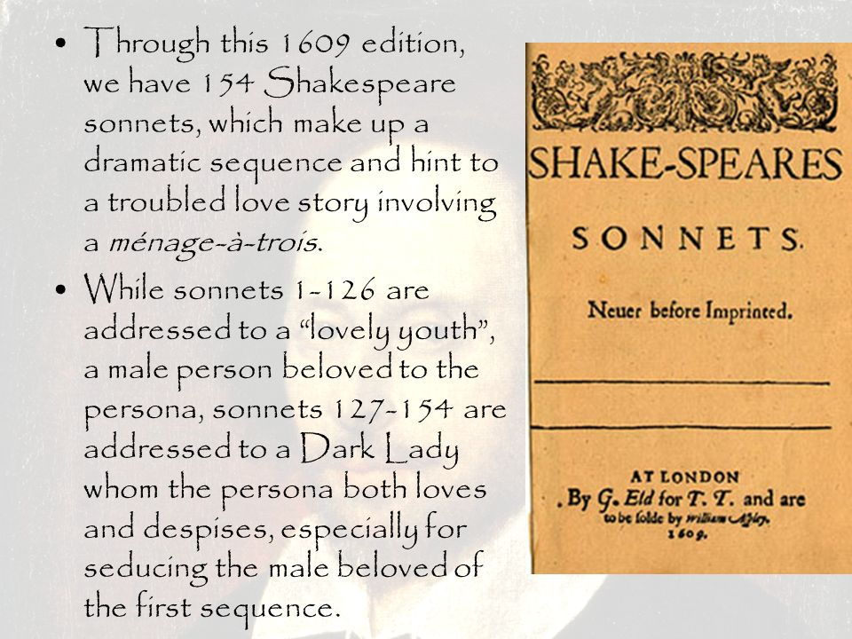 how to make a sonnet about love