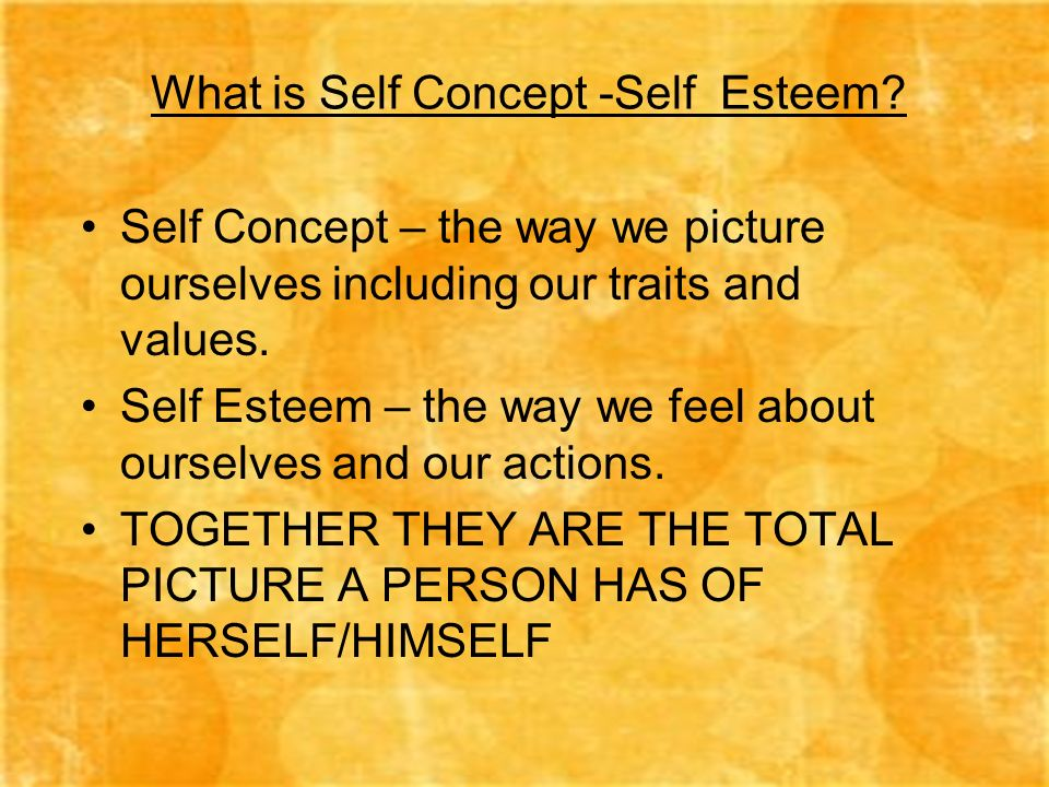 understanding the real concept of self respect Answering the question 'who am i' can lead to a solid self-concept and self- understanding watch this lesson to find out what is self-esteem - definition & how to but that's not all there is to the question of 'who am i' understanding what your motives are when you act is called self-understanding it is often linked to.