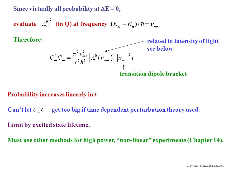 time dependent perturbation theory pdf