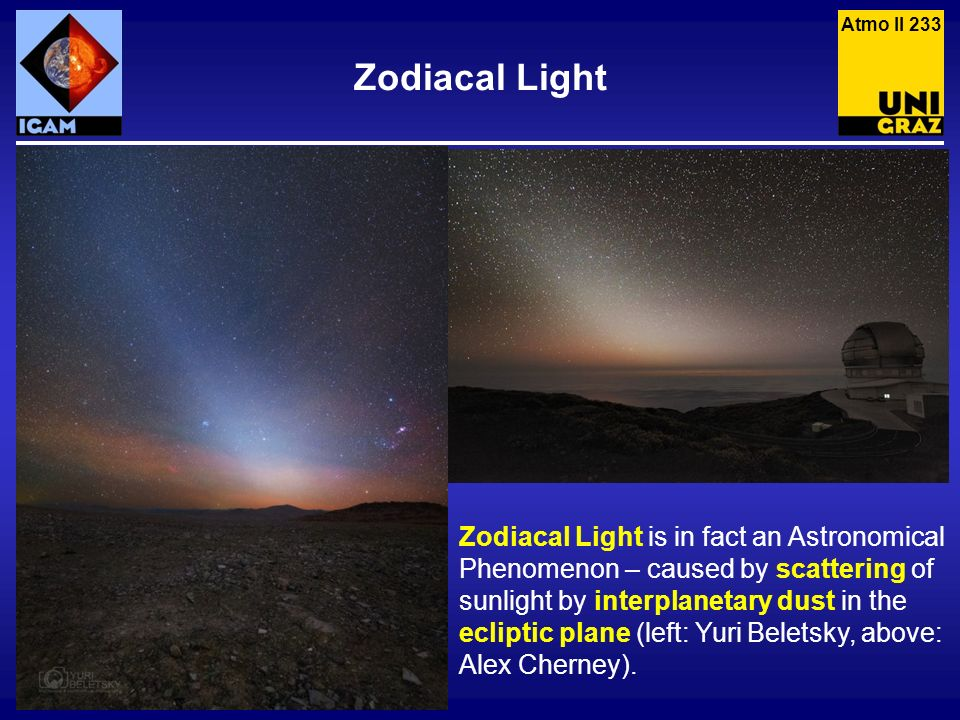 Atmo II 233 Zodiacal Light.