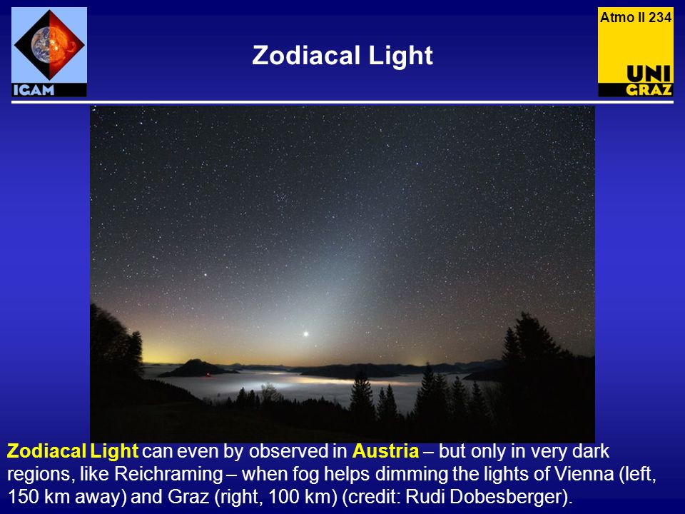 Atmo II 234 Zodiacal Light.