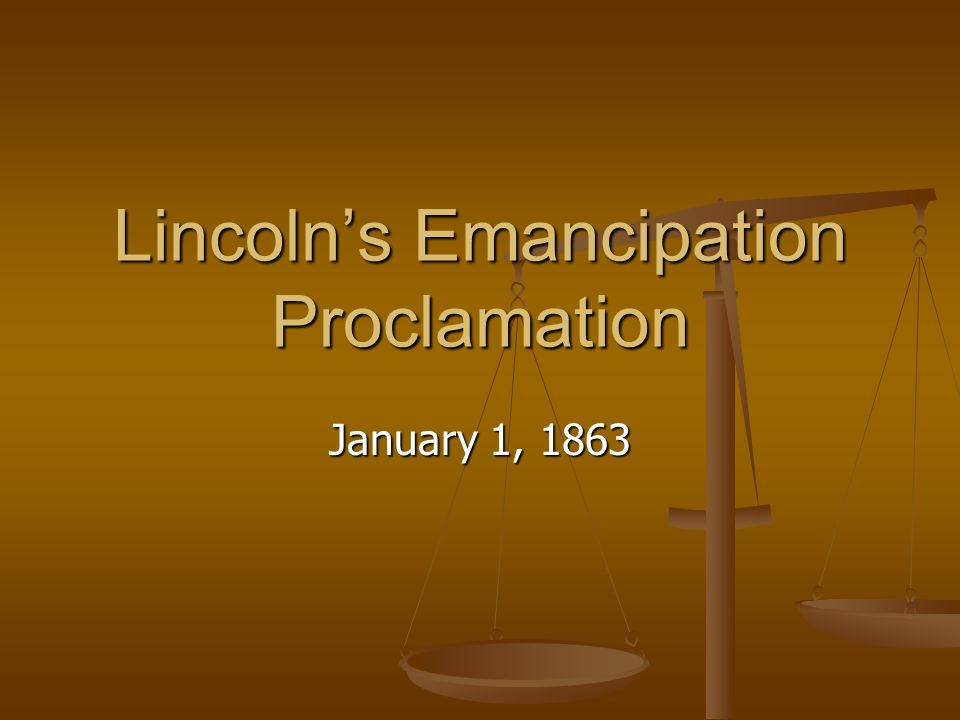the emancipation proclamation essay Question 12 (essay worth 5 points) (hc)the emancipation proclamation, excerpt by the president of the united states of america a proclamation.