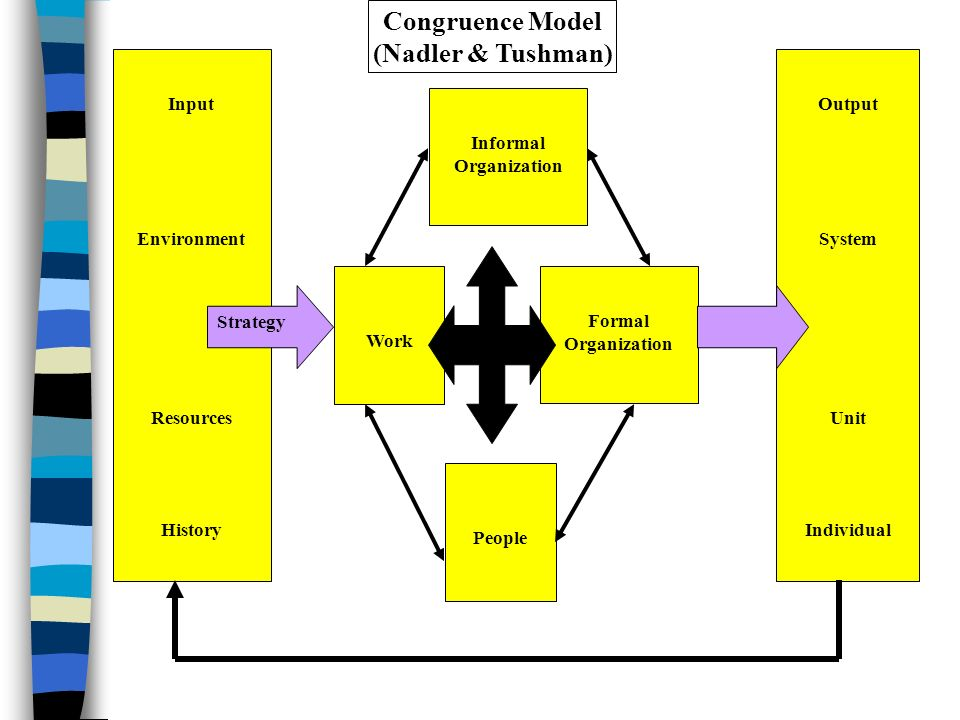 ibm using the tushman o reilly congruence model