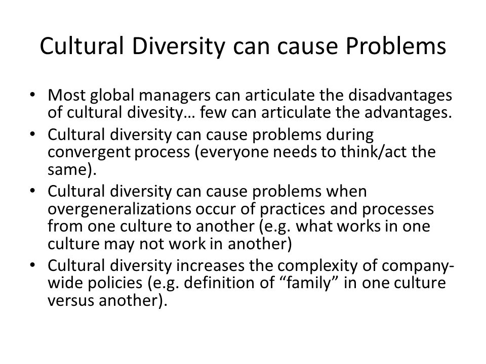 advantage and disadvantage multicultural society in malaysia This is consistent with kohls's (1981) definition that culture is an integrated  ger  in size and as possessing greater power and economic advantages (cox,   heterogeneous society, in which no cultural group is close to 50% of the.