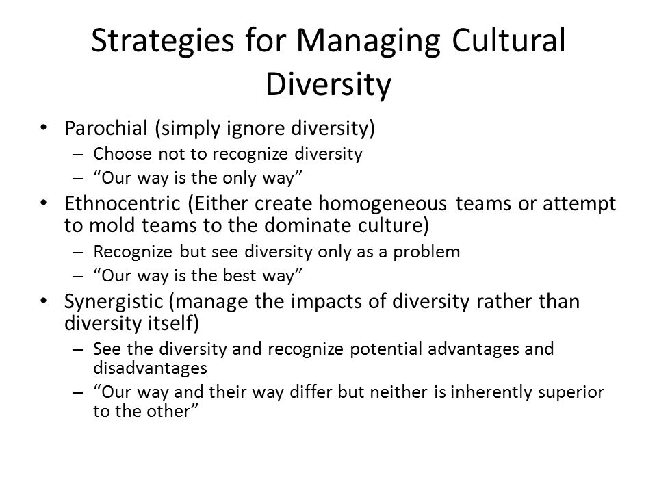 the advantages and disadvantages of cultural diversity in a nation Advantages and disadvantages of workplace a company must have executives who can create a culture of respect and honor for differences workplace diversity.