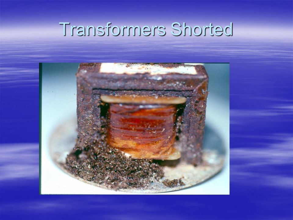 Transformers Shorted