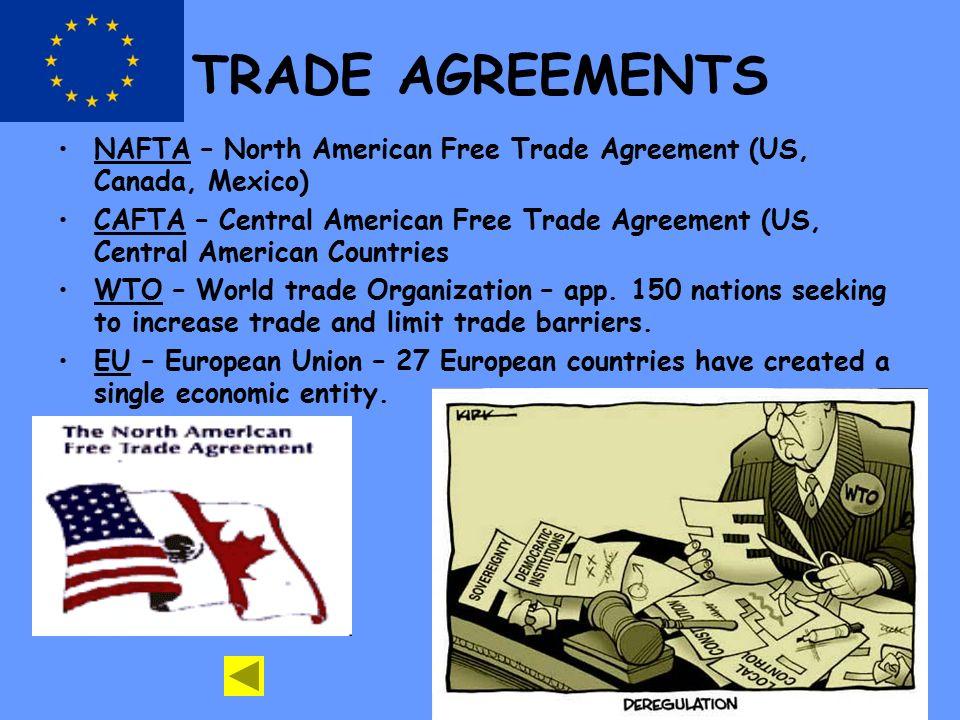 Unit 7 trade international trade vocabulary free trade trade 5 trade agreements platinumwayz