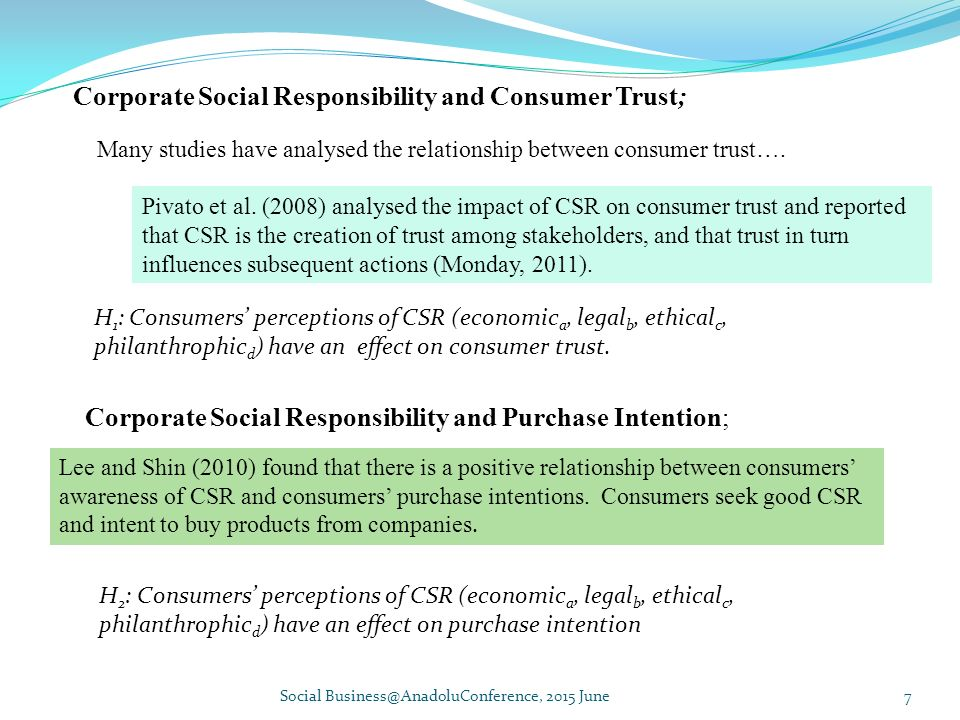 Research proposal on consumers perceptions