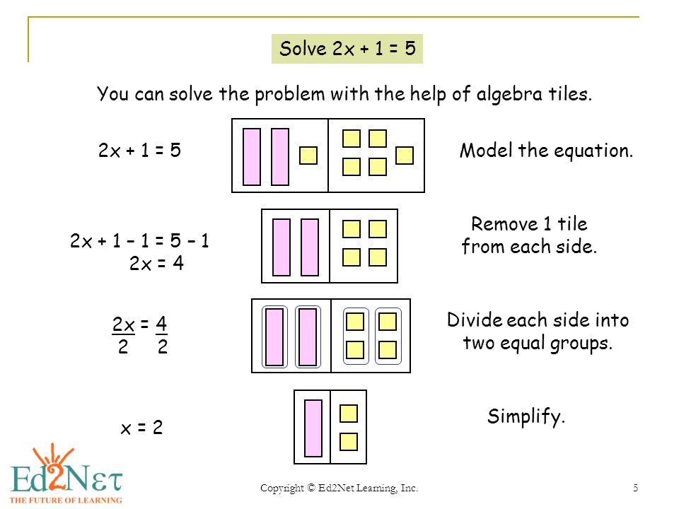Algebra worksheets problem solving