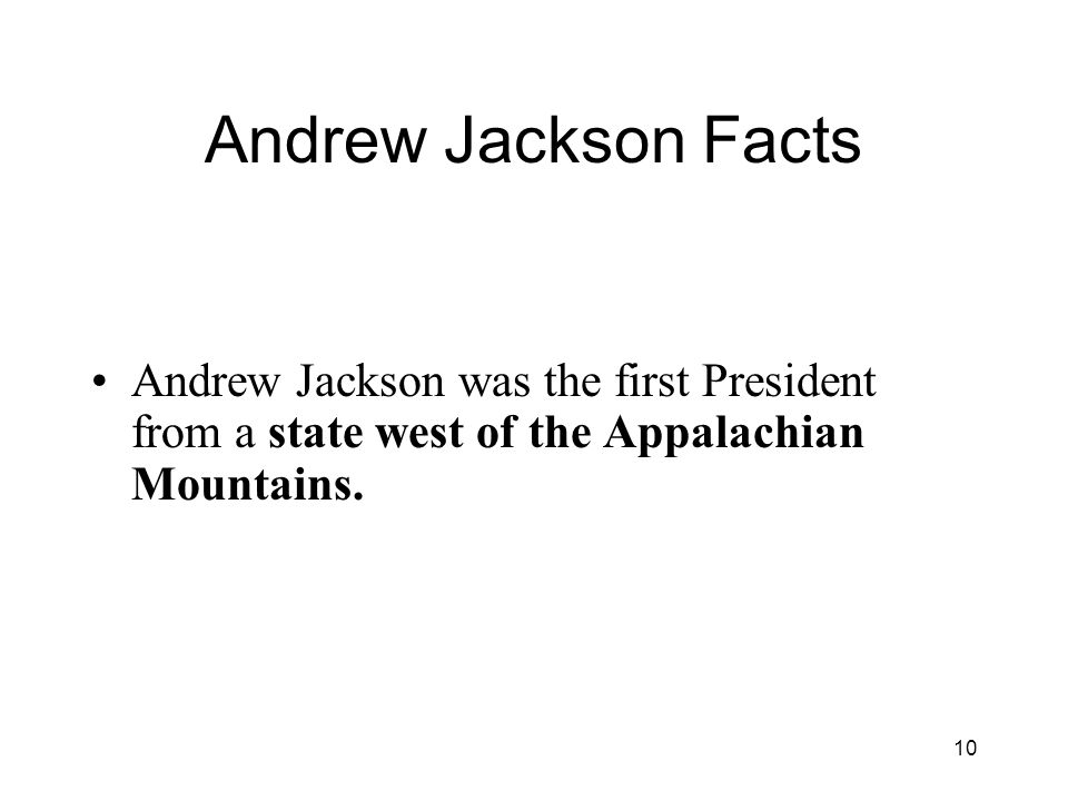 andrew jackson first modern president Andrew jackson was the first modern president he disagreed with some of the ways presidents before him ruled when he was elected, he fired many officials and hired people who were loyal to him.
