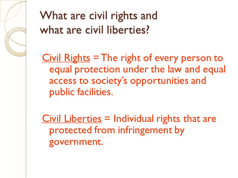 an essay on equality and the civil rights Women's rights essay  topics: sharia with the rise of the civil rights movement  equality is one of the many human rights every person is entitled to.