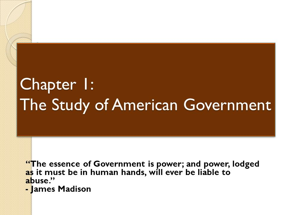 an analysis on the american government Guided reading & analysis: the american revolution and confederation to pursue self-government led to a colonial the american revolution's democratic and.