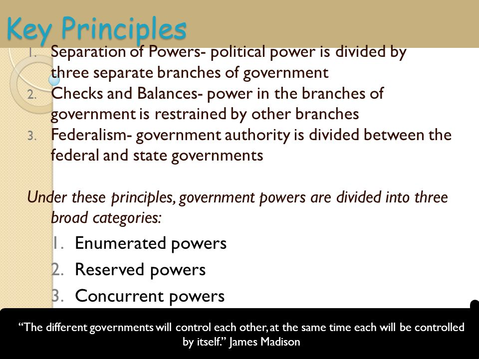 what powers are extended to the federal government The constitution of the united states divides the war powers of the federal  government between the executive and legislative branches: the.