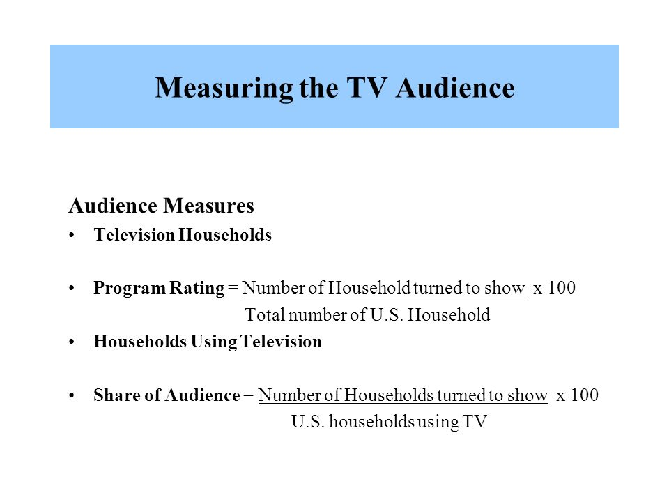 TV ratings: How they work and what they mean