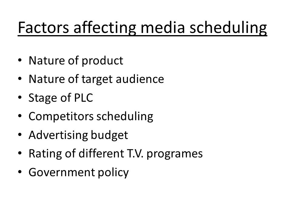 factors influencing media and media reports The media industry plays a vital role in informing and entertaining the public media ownership and the availability of diverse programming have been a long-standing concern of congress.